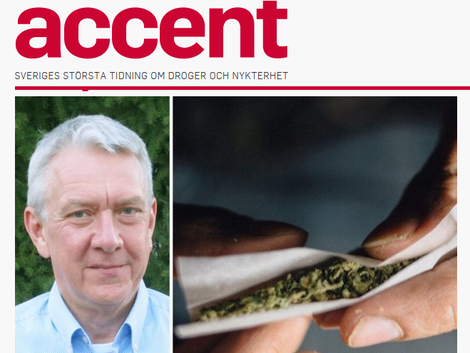Artikel i tidningen Accent om Cannabiskrysset