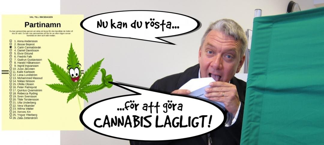 Nu kan du rösta för att göra cannabis lagligt!