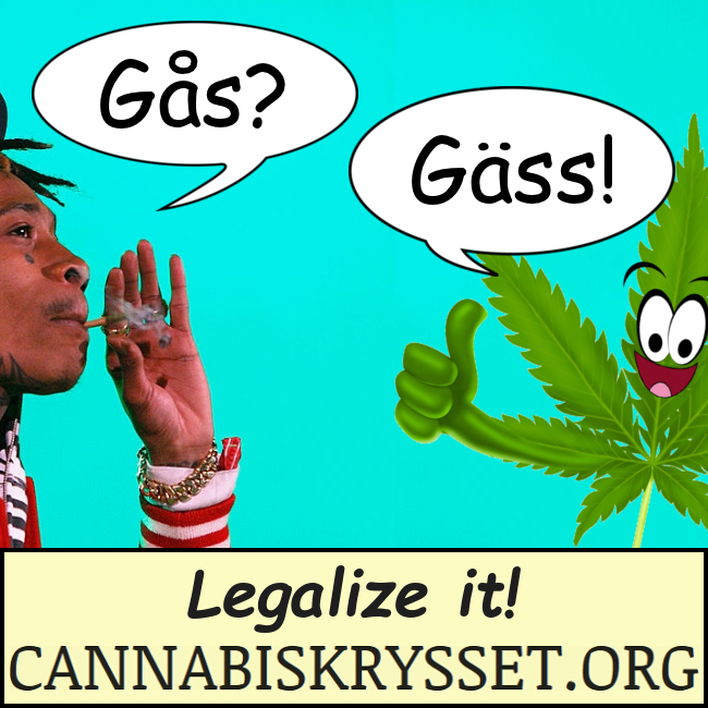 Gås? Gäss! Legalize it!