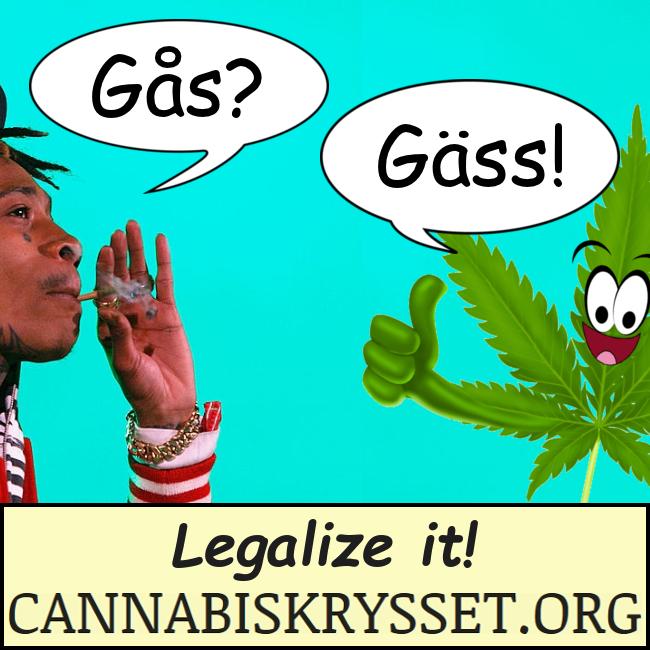 Gås? Gäss! Legalize it!