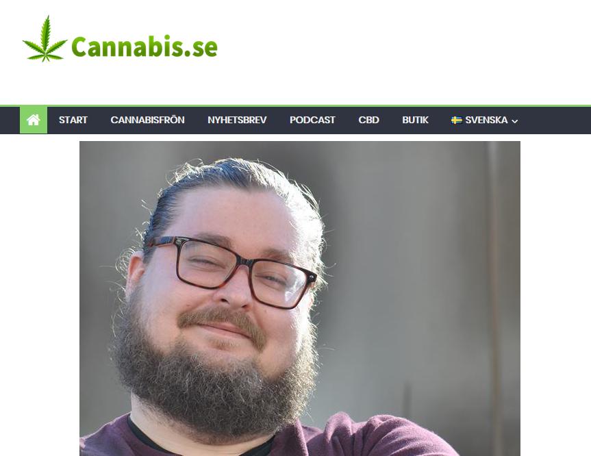 Eftervalsanalys hos Cannabis.se: Otto Larsson (Piratpartiet) fick 3000 kryss i EU-valet